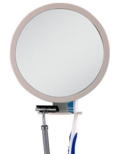 Zadro Fog Free Adjustable Shower Shaving Fogless Grooming Mirror for Beard and Men#039s Facial Hair