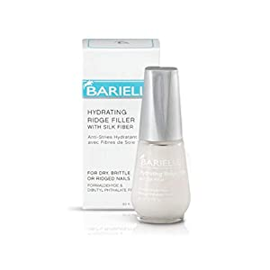 Beauty Shopping Barielle Hydrating Ridge Filler, With Silk Protein Fibers, Fill and Smooth Unsightly Nail Ridges, For Dry, Brittle or…