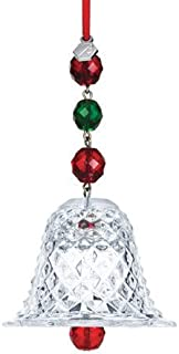 3934554a025d Baccarat Christmas Collection Crystal Bell 2013 Ornament (2-804-663)