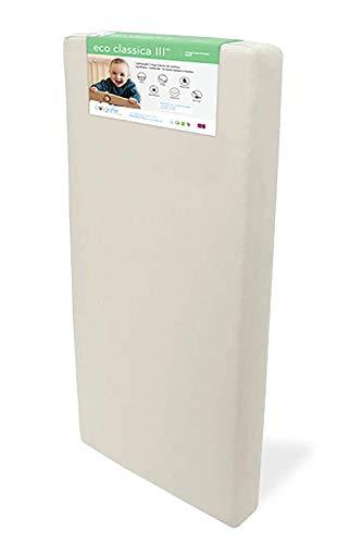 Colgate Eco Classica III Dual firmness Eco-Friendlier Crib mattress, Organic Cotton Cover
