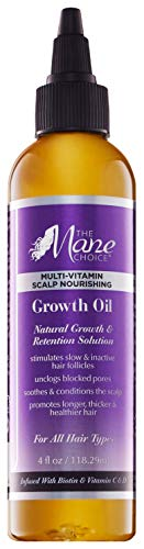 THE MANE CHOICE Hair Growth Oil ( 4 Ounces / 118 Milliliters ) - Multi-Vitamin Scalp Nourishing...
