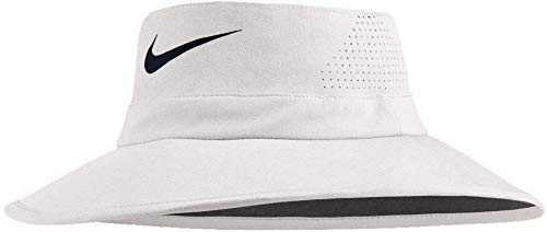 NIKE Golf UV Sun Bucket Golf Hat 832687 (White) S/M
