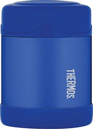 Thermos Stainless Steel Food Jar, 290ml, Blue