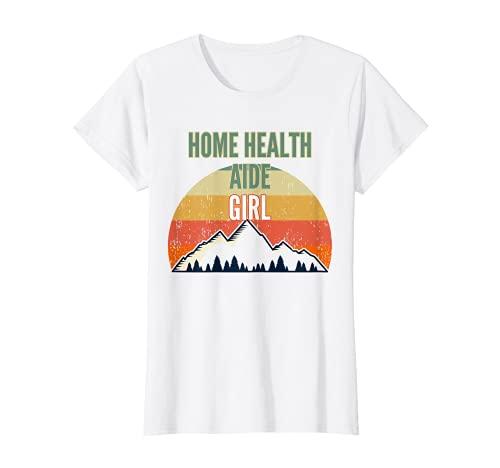 Home Health Aid regalo per le donne, Home Health Aid Guy Maglietta