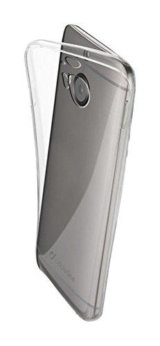 Cellular Line cfinecm9plt Fine Ultra Fina de Goma Funda para HTC One M9Plus Transparente