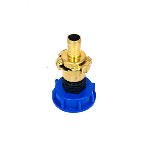 CM135100101 Kappenverschraubung S60x6 + GEKA - Messing-Kupplung IG 1