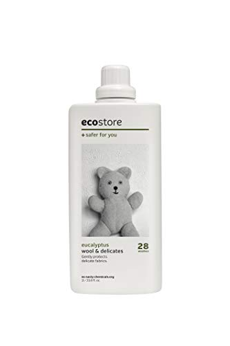 ecostore(エコストア) デリケート&ウールウォッシュ 【ユーカリ】 おしゃれ着 ウール用 洗濯 中性洗剤 1L