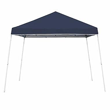 Z-Shade 10' x 10' Angled Leg Instant Shade Canopy Tent, Navy