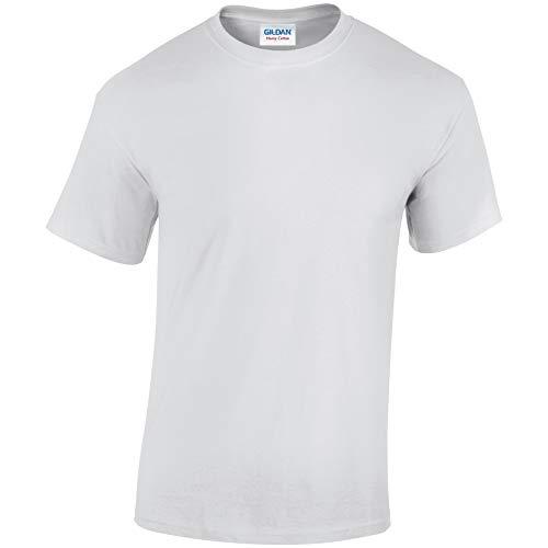 Gildan T-shirt en coton épais pour enfant -  blanc -