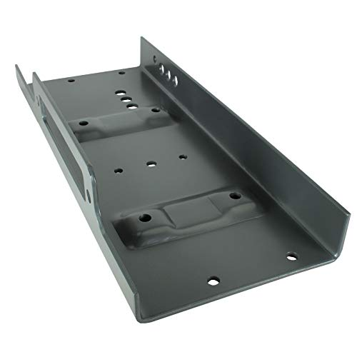 Winch Mounting Plate up to 15000 lb Winches Winch Tray for Recovery Truck IST600