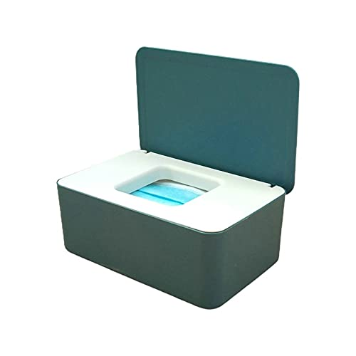 chensong Caja de Almacenamiento Caja de Tejido bebé Limpieza húmedo dispensador Flip Cubierta Polvo a Prueba de Polvo Caja de Almacenamiento (Color : 4)