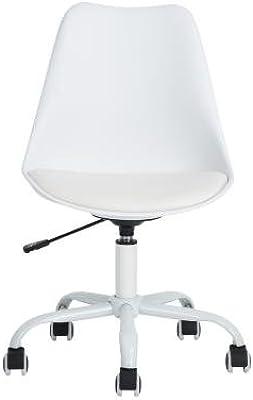 LeMonde Silla de Oficina Exécutif 360 Grados Ajustable Altura Ajustable PP Flexible con Asiento sintética para