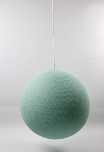 Cotton Ball Lights Mint 31cm Hängelampe einzeln, Baumwolle, 31 cm