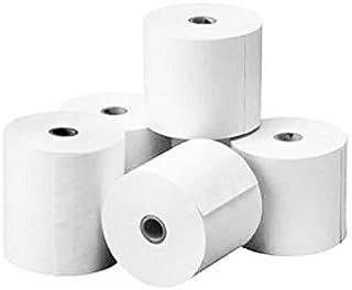 Fabrisa 4575511 - Rollo de papel térmico sumadora, 57 mm x 55 mm x 12 m, pack de 10