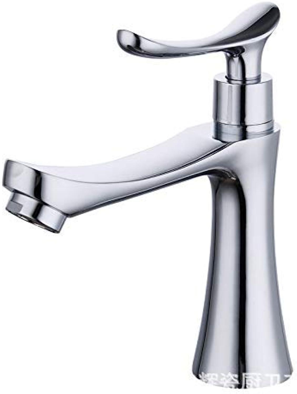 XINXI HOME Taps Faucet Above Counter Basin Alloy Basin Faucet Above Counter Basin Basin Alloy Single Cold Faucet