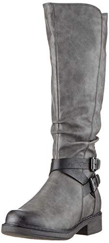 MARCO TOZZI Damen 2-2-26622-23 Hohe Stiefel, Grau (Dk.Grey Antic 207), 41 EU