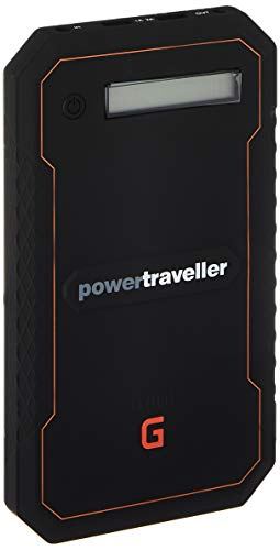 Powertraveller Mini-Gorilla Batterie de Recharge, Unisexe, Adulte, Noir