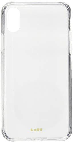 Capa Protetora Crystal-X Fundo em Vidro e Borda Transparente para Iphone X/XS, Laut, Capa Protetora para Celular, Transparente