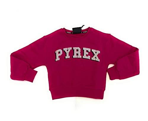 Pyrex Kids Bambina 026079 Fuxia Felpa Inverno 8 Anni