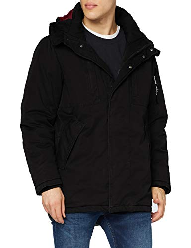 Pepe Jeans Fulham Chaqueta, Negro (Black 999), L para Hombre