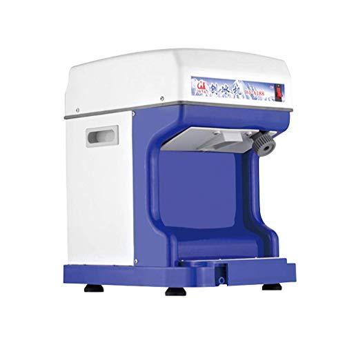 ZHAO 250w Eismaschine Gewerbe Vollautomatische Ice Crusher, High Power Schnee-Kegel-Maschine, Sand Eismaschine Haushalts