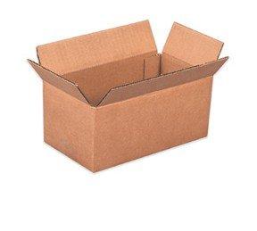REALPACK® 10 x cajas sola pared tamaño: 20 x 15