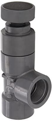 "Hayward PVC Globe Valve, FPM Seal, 1-1/2"" Threaded from Hayward"