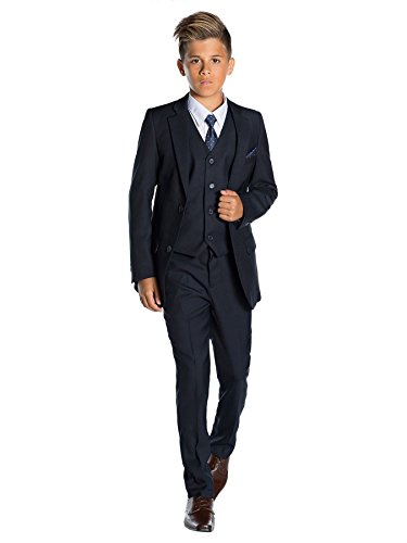 Paisley of London–Disfraz de traje para niños azul marino 5 Años