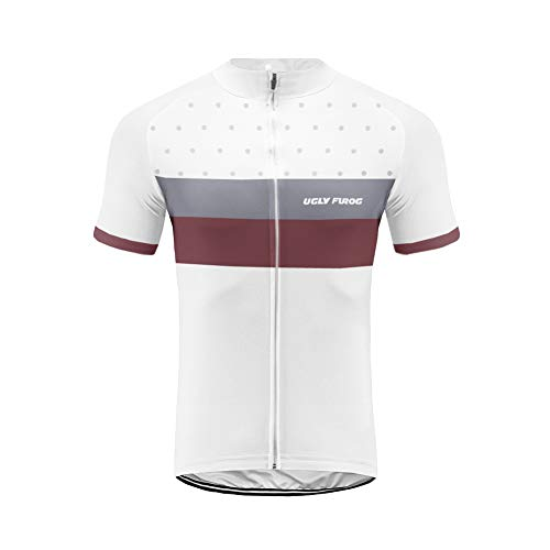 Uglyfrog Bike Wear Herren Outdoor Sport MTB Fahrradbekleidung Fahrradtrikot Radsport Kurzarmtrikot Radfahren Trikot