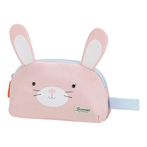 Samsonite Happy Sammies - toilettas, 21,5 cm, 2 L, bruin (teddy bear), roze (Rabbit Rosie) (roze) - 93418/6559