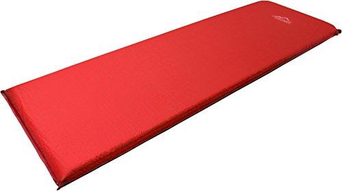 normani Selbstaufblasende Luftmatratze Verschiedene Größen Farbe Rot/Grau Größe 193 x 61 x 5 cm