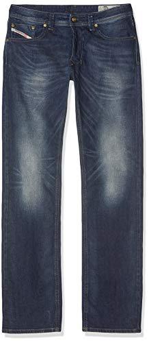 Diesel Larkee-00C06R Jeans Straight, Azul Oscuro 0853R, 38W / 34L Uomo