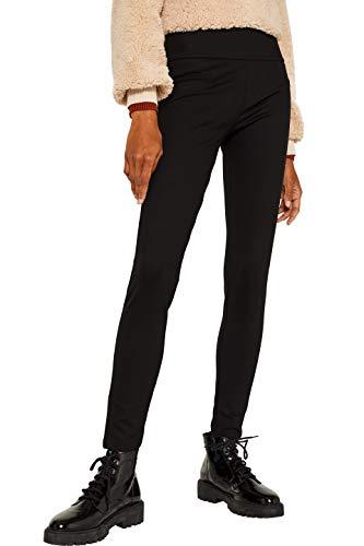 ESPRIT Damen 109EE1B069 Leggings, Schwarz (Black 001), W34 (Herstellergröße:XS)