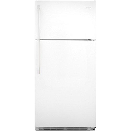 Frigidaire FFTR1821QW 18.0 Cu. Ft. White Top Freezer Refrigerator -...