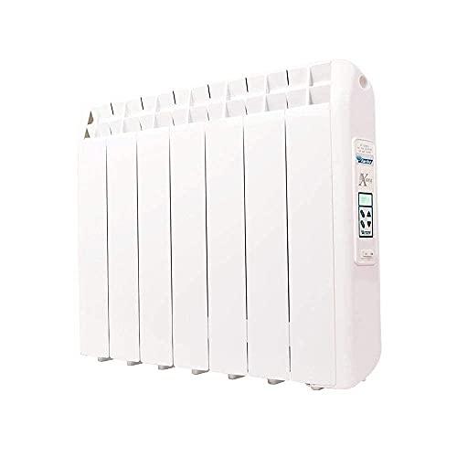 farho Radiador Electrico XP 770W (7) · Emisor Térmico con Termostato Digital Programable 24/7 · WiFi Opcional · Radiadores Electricos Bajo Consumo para estancias de hasta 12 m² · 20 AÑOS DE GARANTÍA