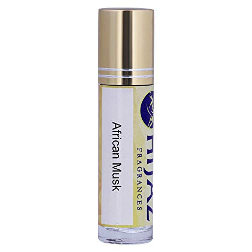 Roll on Green African Musk Fragrance Scented Body Oil Perfume 1/3 oz Alcohol Free