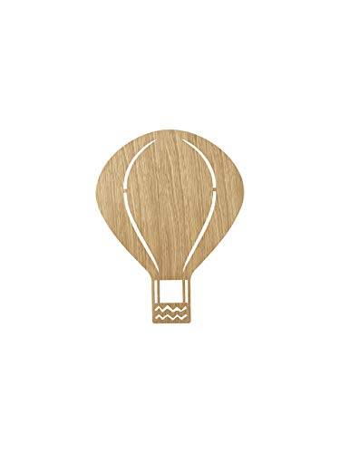 Ferm Living Air Balloon lamp eiken geolied