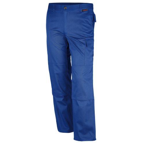 Qualitex Bundhose Mischgewebe 65% Baumwolle 35% Polyester in Kornblau 3104/4 in Größe 54