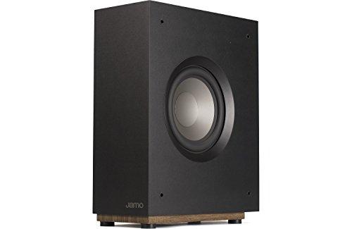 Jamo S 808 SUB B 50 W Schwarz - Subwoofer (50 W, 39-180 Hz, 100 W, 108 dB, 20,3 cm, 20,3 cm (8 Zoll))