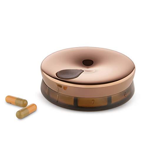 Alessi BM08 BR pillendoos, plastic, bruin