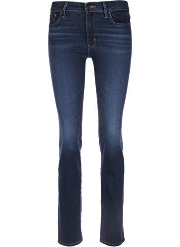 Levi's 712 Slim Jeans Damen Indigo - DE 36 (US 28/32) - Slim Fit Jeans
