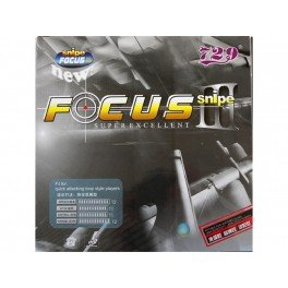 729 Focus 3 Table Tennis Rubber Color-Red,Thickness-2.1mm