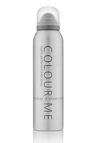 Colour Me Silver - Fragrance for Men - 150ml Body Spray, by Milton-Lloyd