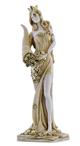 Skulptur / Statue Göttin des Reichtums, Tyche, Glück, Fortuna, Alabaster, Höhe ca. 30cm