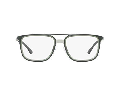 Emporio Armani 0EA1073 Monturas de Gafas, Matte Dark Green, 52 para Hombre