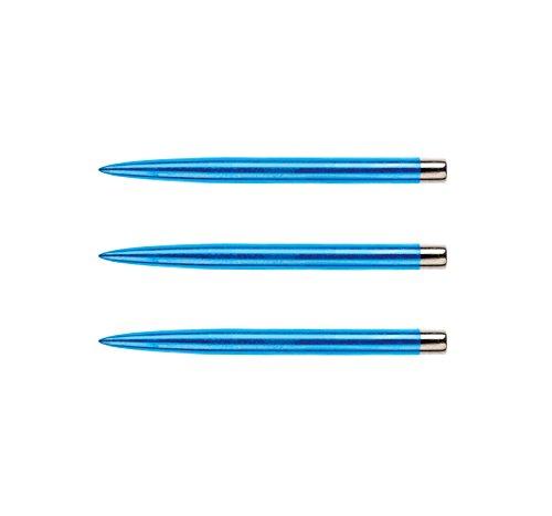 RED DRAGON Spezialist Dartpunkte - Blau Beschichteter Standard 32mm - 3 Sätze pro Packung