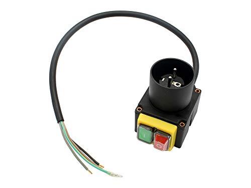 SECURA Schalter mit Stecker 230V kompatibel mit Lumag Hos 8 230V Holzspalter