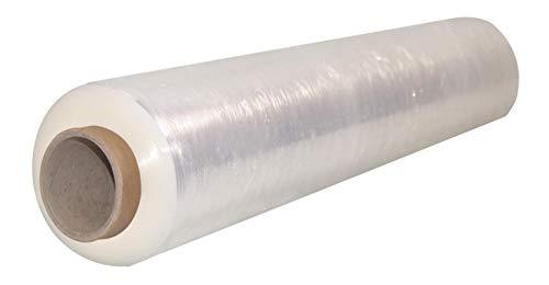 Chely Intermarket|| Film transparente para embalar, 500 mm/ancho X 200 metros, protector extensible para agrupación y paletización del producto. (200 metros-2)