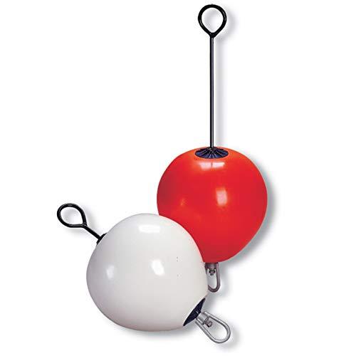 DAN FENDER: Mooring Boje - kurz oder lang - Verschiedene Typen & Farben erhältlich, Farbe:rot, Typ:M 40 lang