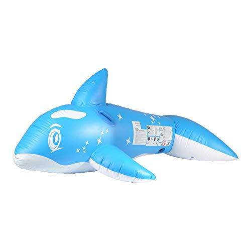 Chlius - Flotador inflable para piscina de ballenas (213 cm)